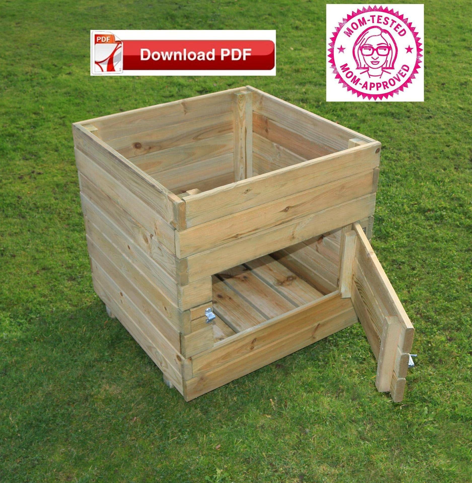 Organic Potato Planter Plan Potato Planter Box Plan 400 x 300