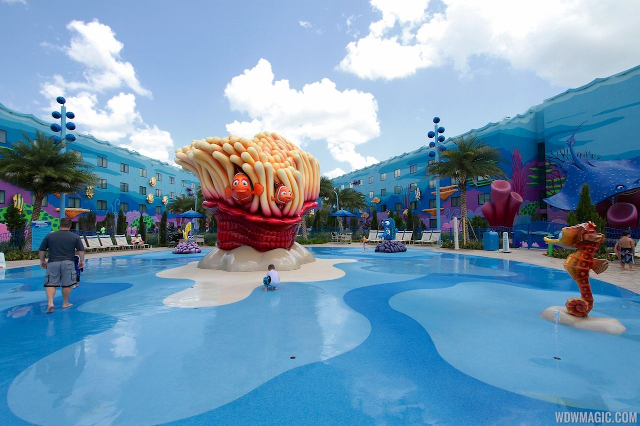 Disney 39 S Art Of Animation Resort The Schoolyard Water Playground Disney 39 S Art Of Animation