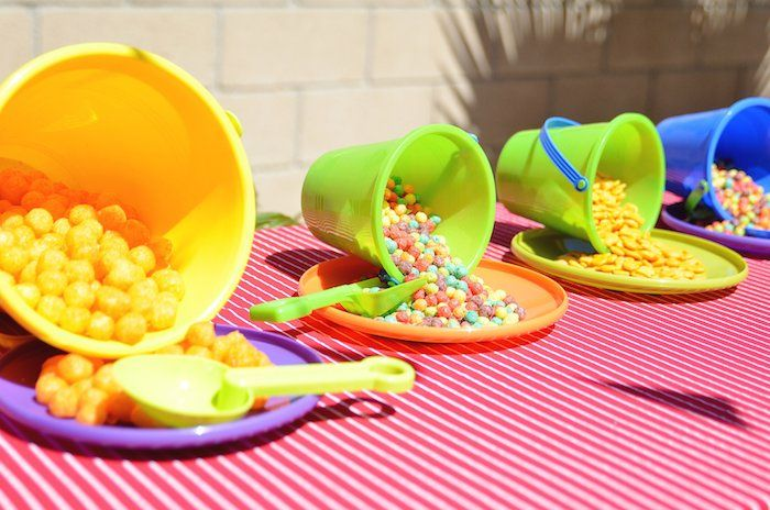 Beach Ball Themed Birthday Party Beach Birthday Party Pool