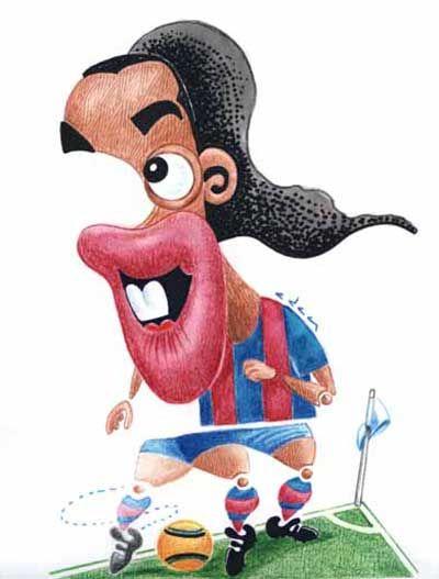 Caricature Collection: Ronaldinho