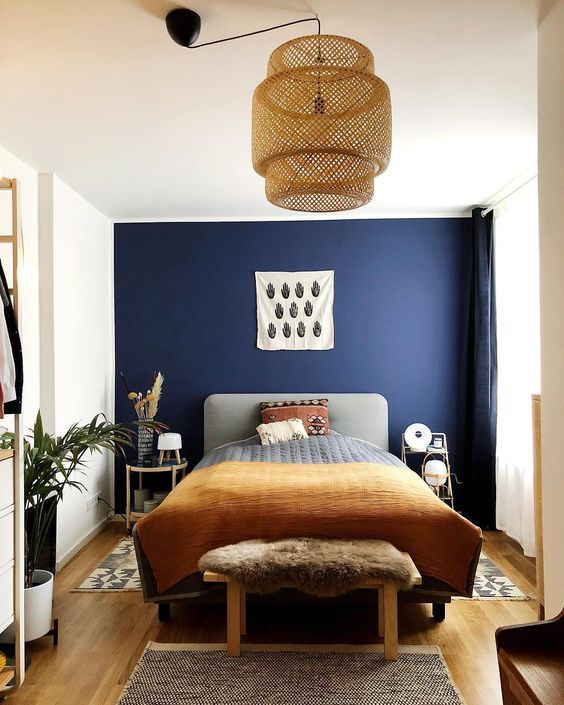 Photo of 33 Epic Navy Blue Bedroom Design Ideas to Inspire You | Homesthetics – Inspiring ideas for your home.