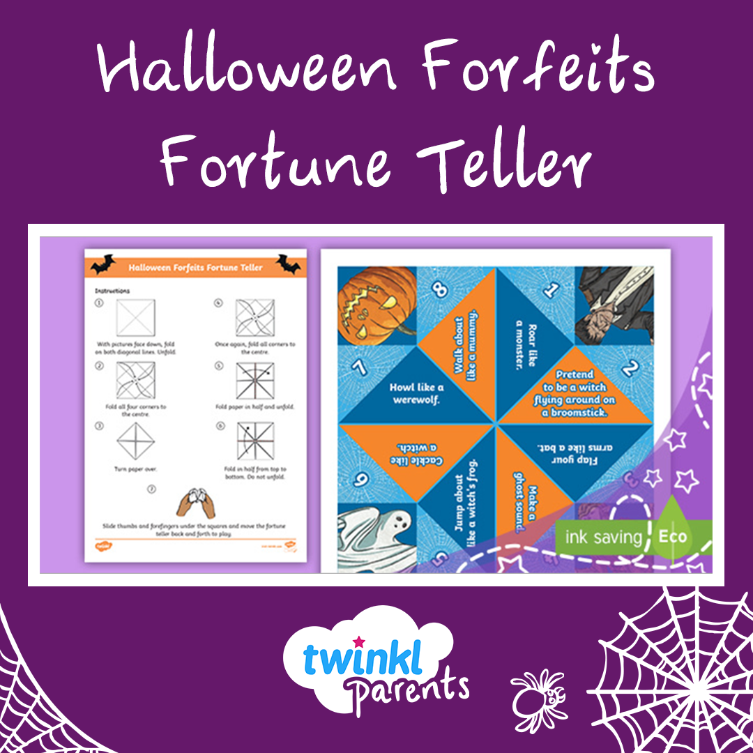 Halloween Forfeits Fortune Teller Halloween Games for