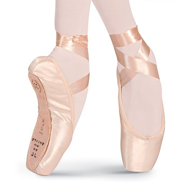 Ballet pointe shoes, Ballet shoes