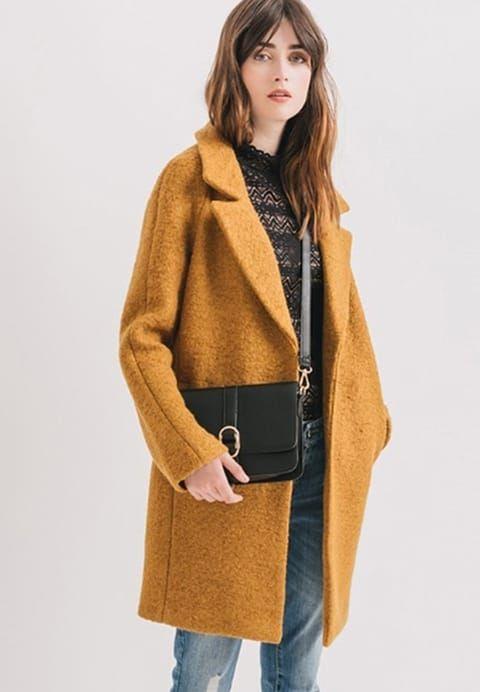 bbb78213b065 Promod Manteau classique - ocre - ZALANDO.FR   Wear   Style, Fashion ...