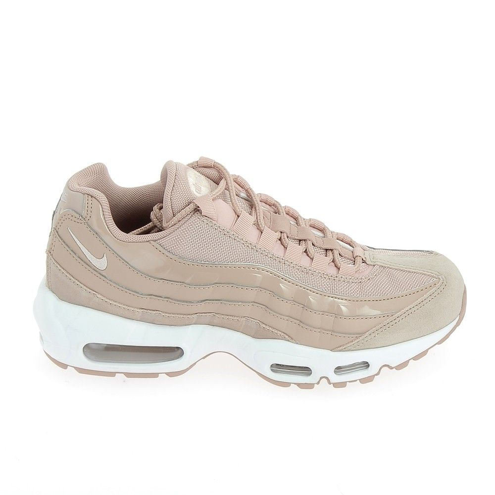 lowest price f32c6 2a0a6 NIKE Air Max 95 Rose Blanc