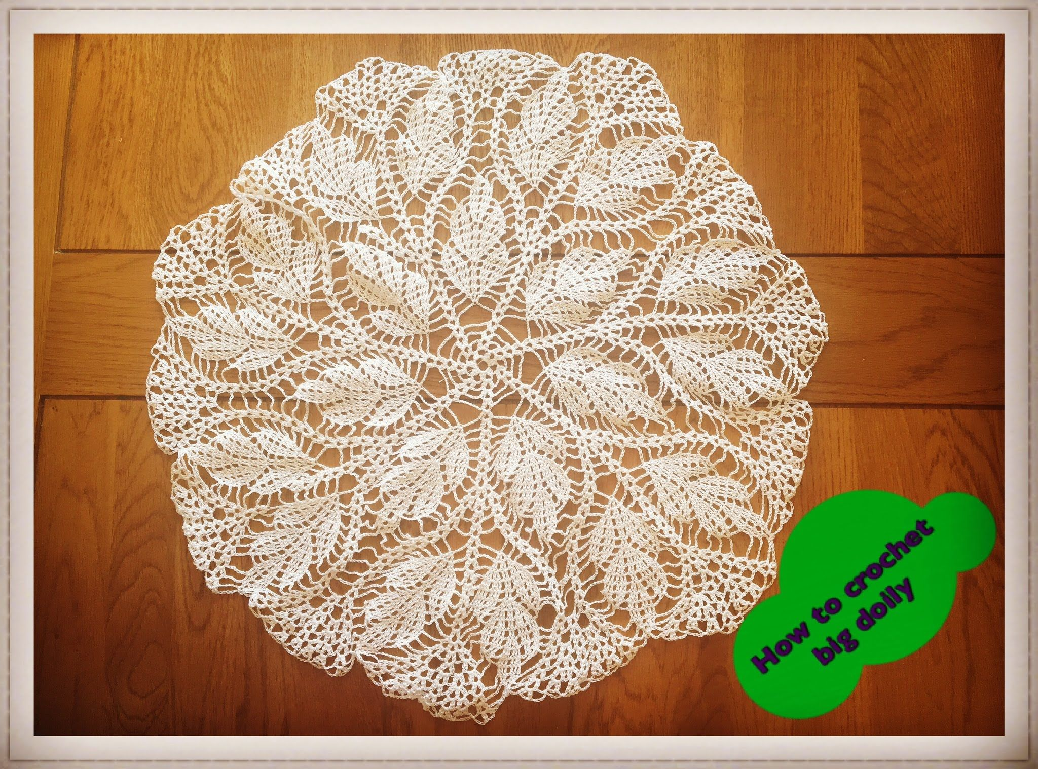 How to crochet big doily 17 diameter part 1 of 3 doilies how to crochet big doily 17 diameter part bankloansurffo Gallery