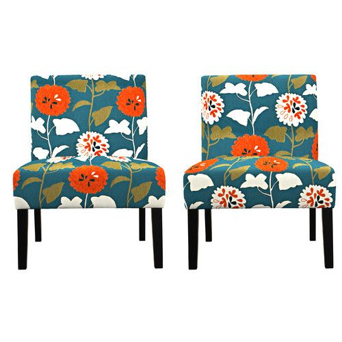 Best Found It At Wayfair Nate Floral Side Chair Chair 400 x 300