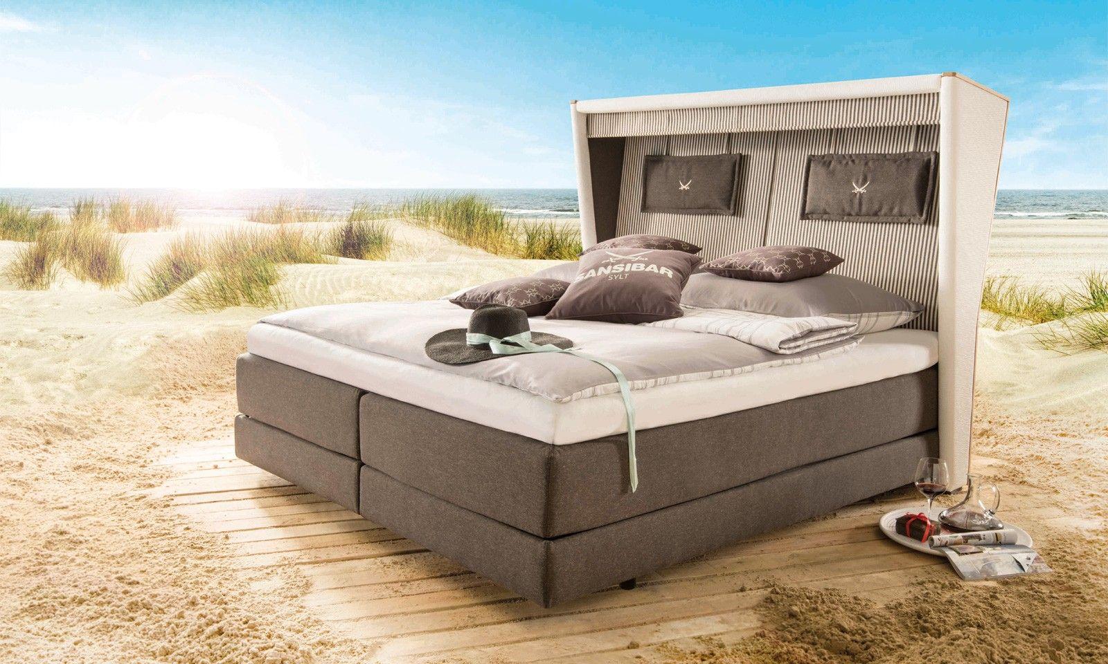 Boxspringbett In Strandkorb Optik Außergewöhnlich Schön