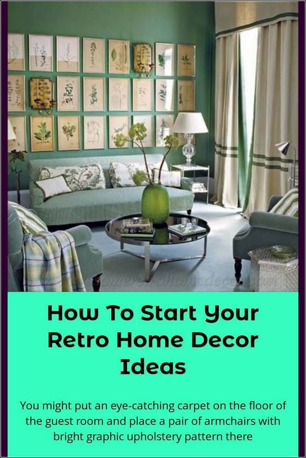 Retro Home Decor Hints And Ideas On