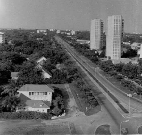 Boulevard Albert 1er Leopoldville Congo c1960  Congo Daze