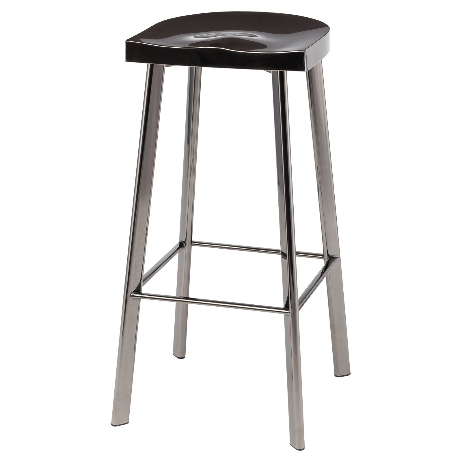 Cool Nuevo Icon Barstool Black Products In 2019 Metal Counter Ncnpc Chair Design For Home Ncnpcorg