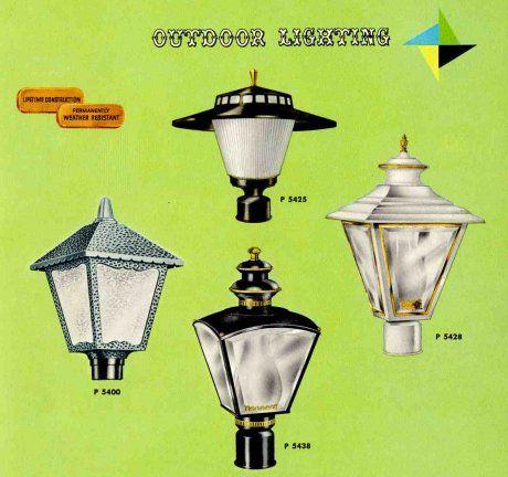 41 midcentury lighting ideas post lanterns lamp posts wall