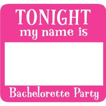Bachelorette Party Games Fake Names Are Super Fun For A