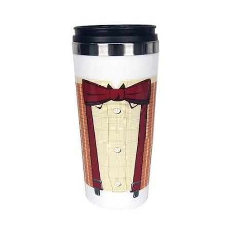 Amazon.com: EE Exclusive Doctor Who 11th Doctor Bowtie Travel Mug: Kitchen & Dining