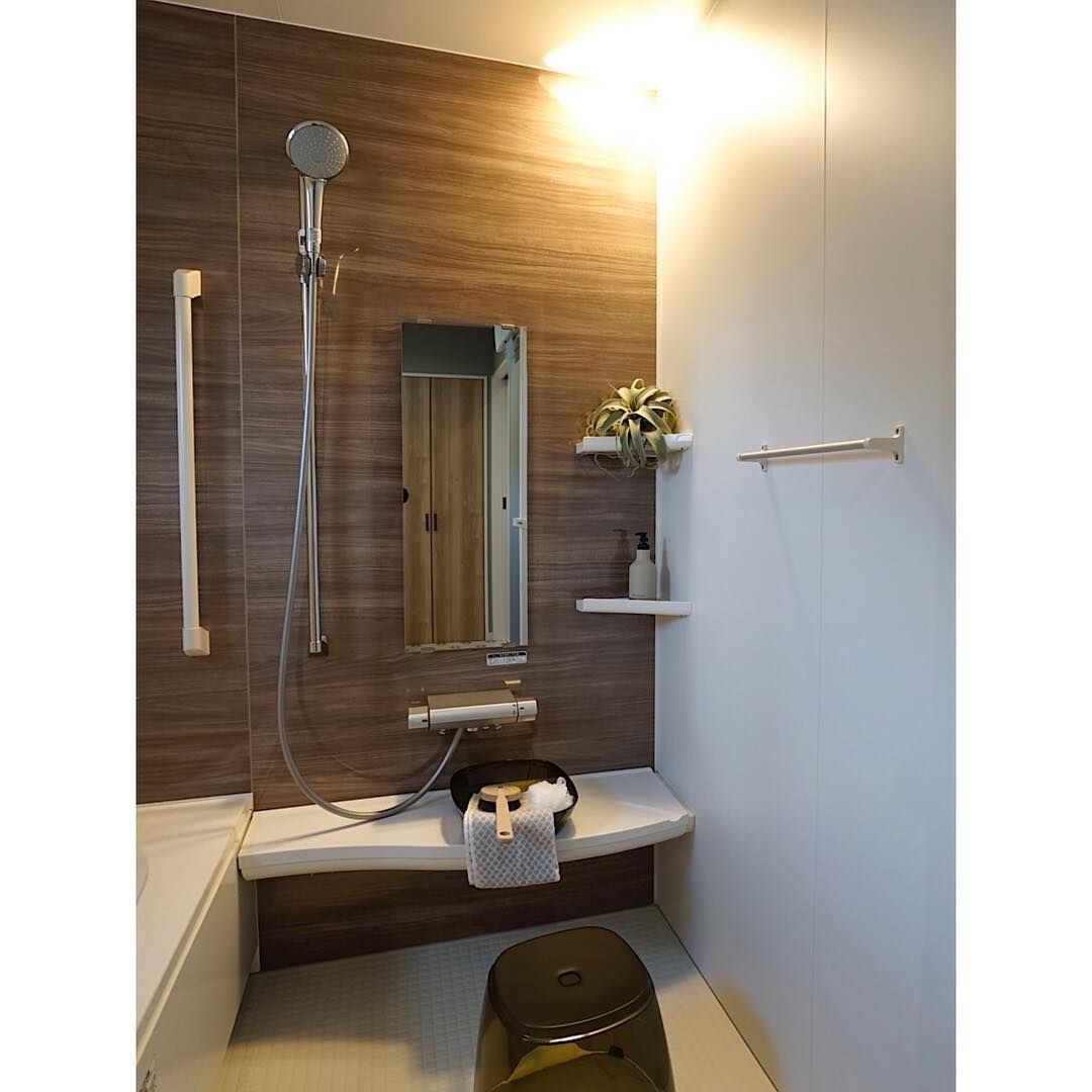 建築実例 お風呂 Bathroom Bath 洗面所 間接照明 電球色 浴室