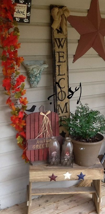 Wall Colour Inspiration: Lil More Porch(The Gilbert Homestead) :-)sg