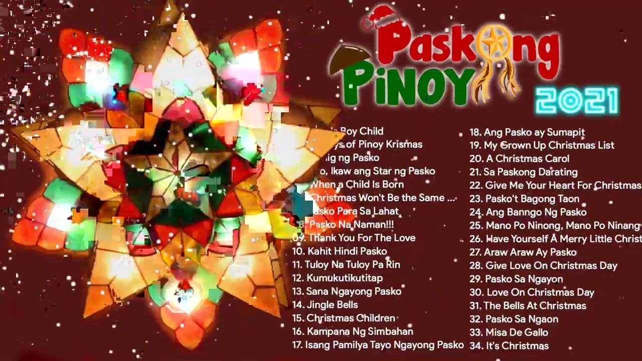 Paskong Pinoy Medley Tagalog Christmas Songs 2021 Jose