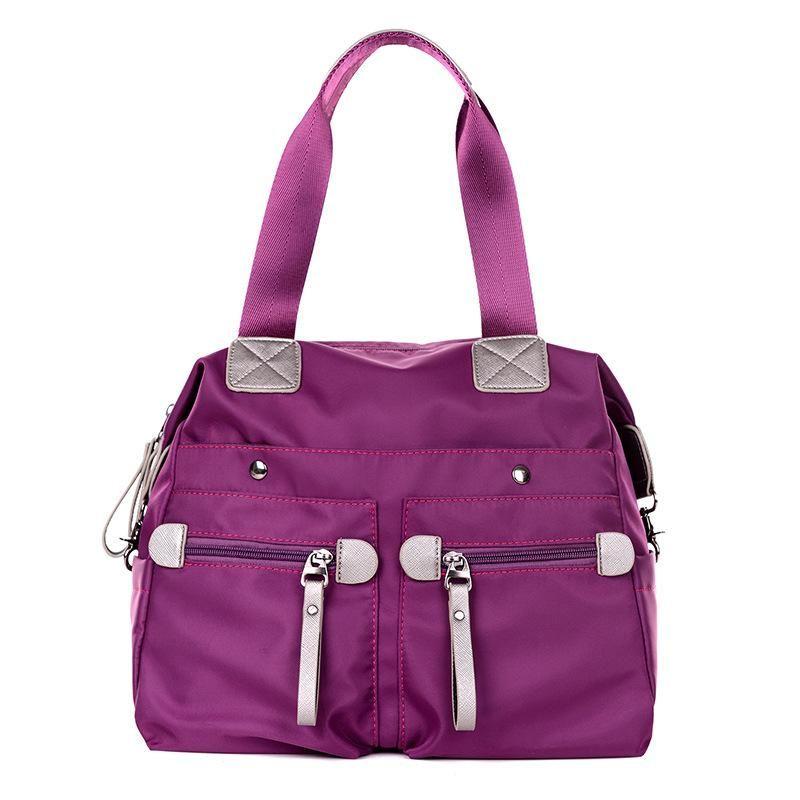 Fashion Nylon Women Handbags Solid Vintage Women Bags Zipper Tote Bag brand Messenger Bag