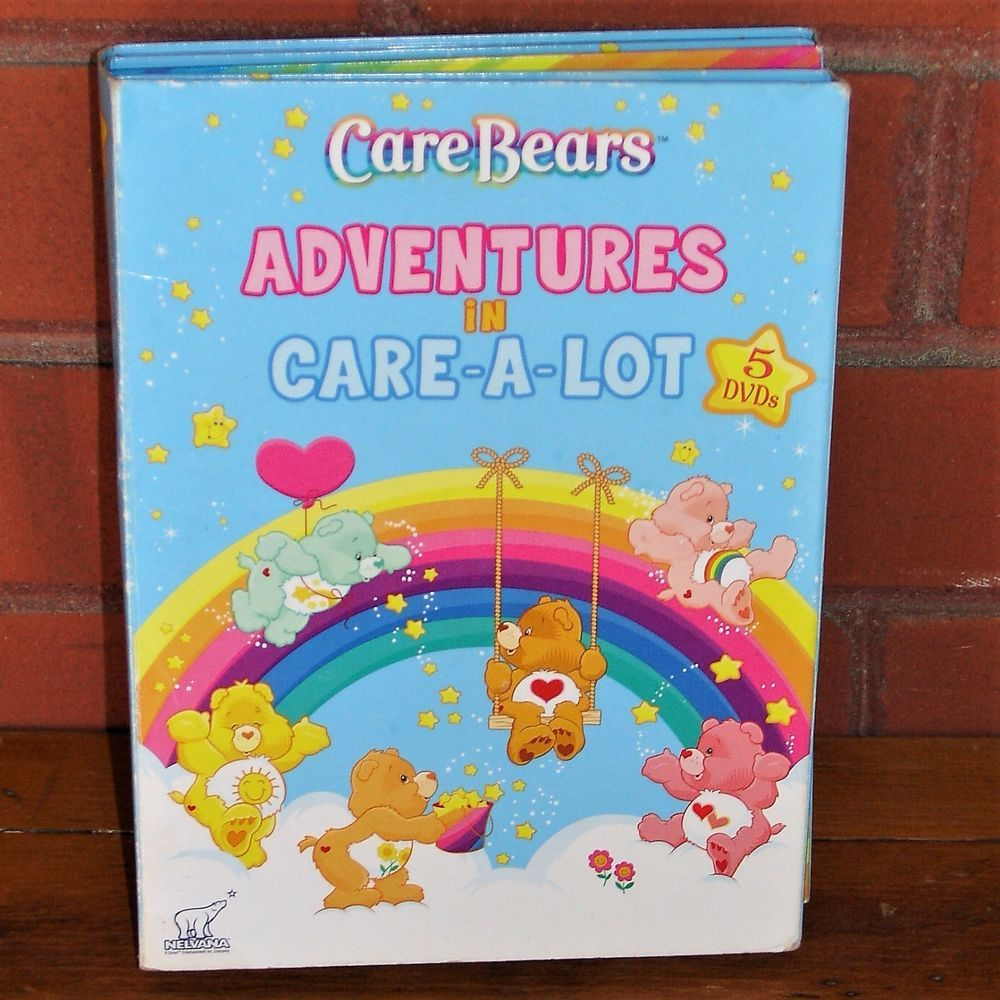 Care Bears Adventures In Care A Lot 5 Dvd Set Nelvana Madacy