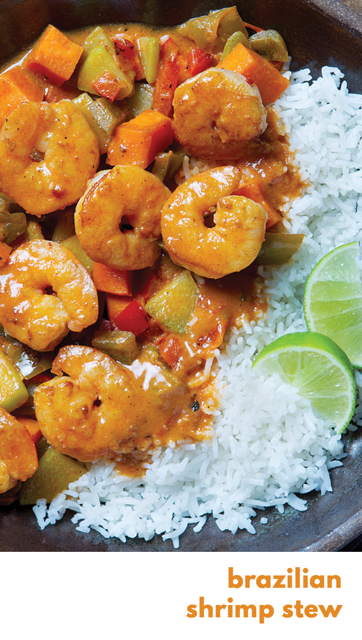 Gobble brazilian shrimp stew fresh simple ingredients 15 gobble brazilian shrimp stew fresh simple ingredients 15 minute dinners dinner forumfinder Image collections