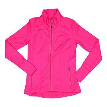 Amazon.com: Tangerine Womens Active Full Zip Track Jacket: Clothing