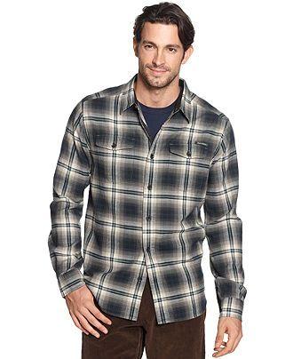 Field & Stream Shirt, Plaid Flannel Shirt - Casual Button-Down Shirts - Men  - Macy's