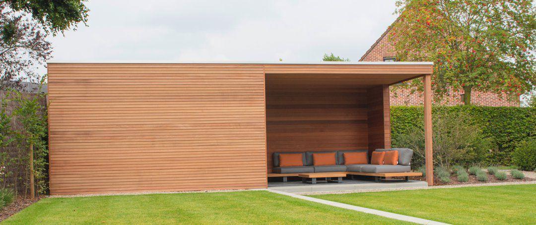 Modern Strak Houten Tuinhuis Abris De Jardins Pinterest House