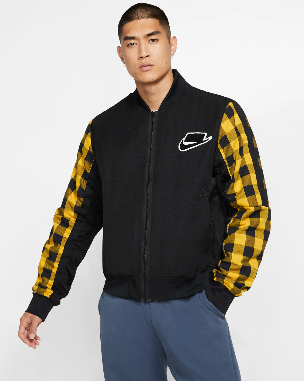 Nike Sportswear Nsw Bomber Jacket Nike Com Nike Bomber Jacket Bomber Jacket Jackets [ 1250 x 1000 Pixel ]