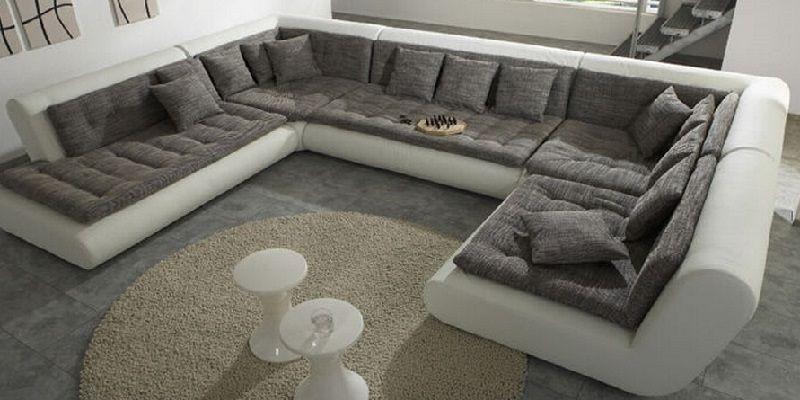U Shaped Fabric Sofa U Shaped Sofa