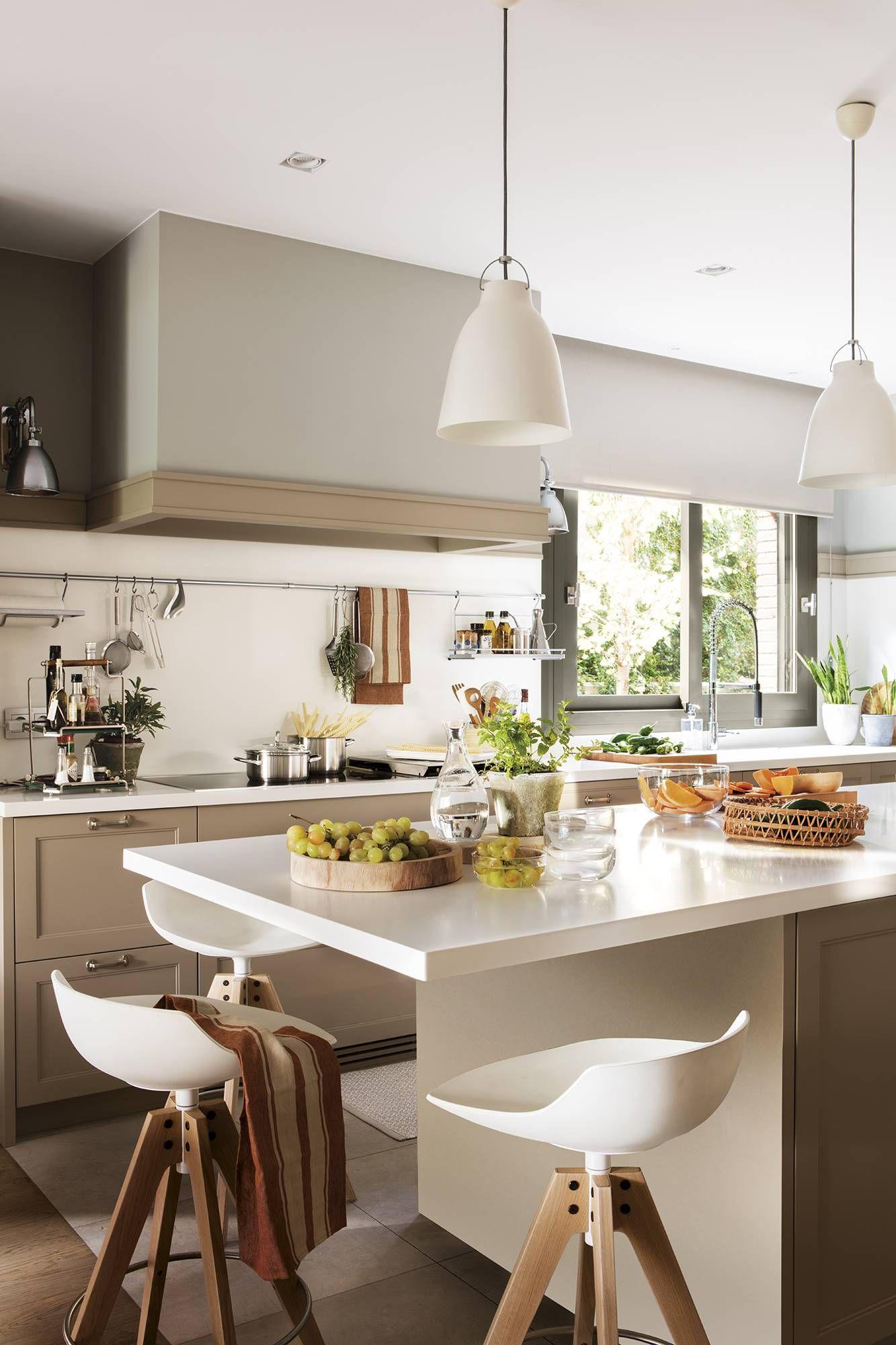 Esta casa tiene una super cocina que te encantará  Ilot cuisine