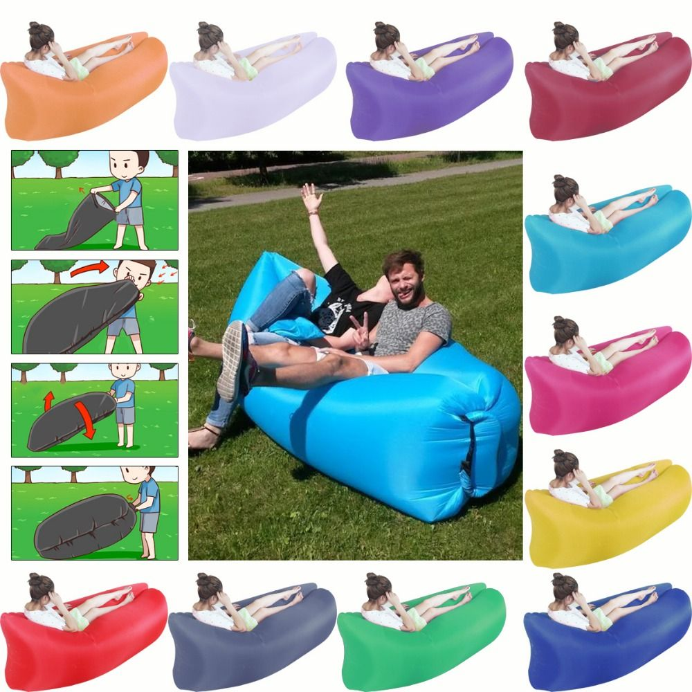 Brilliant New Arrival Inflatable Air Bed Sofa Outdoor Air Bag Lazy Pabps2019 Chair Design Images Pabps2019Com