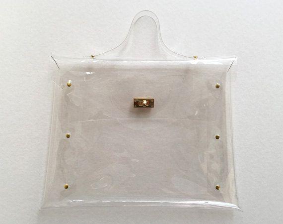 meilleures baskets 7c5ef 6aef0 Sac transparent à la main, sac transparent élégant, beau ...