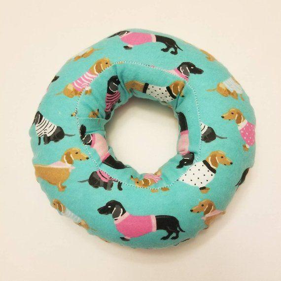 Piercing Pillow Ear Pillow Donut Pillow Ear Piercing Pillow Dachshunds Pillows Ear Piercings Piercings