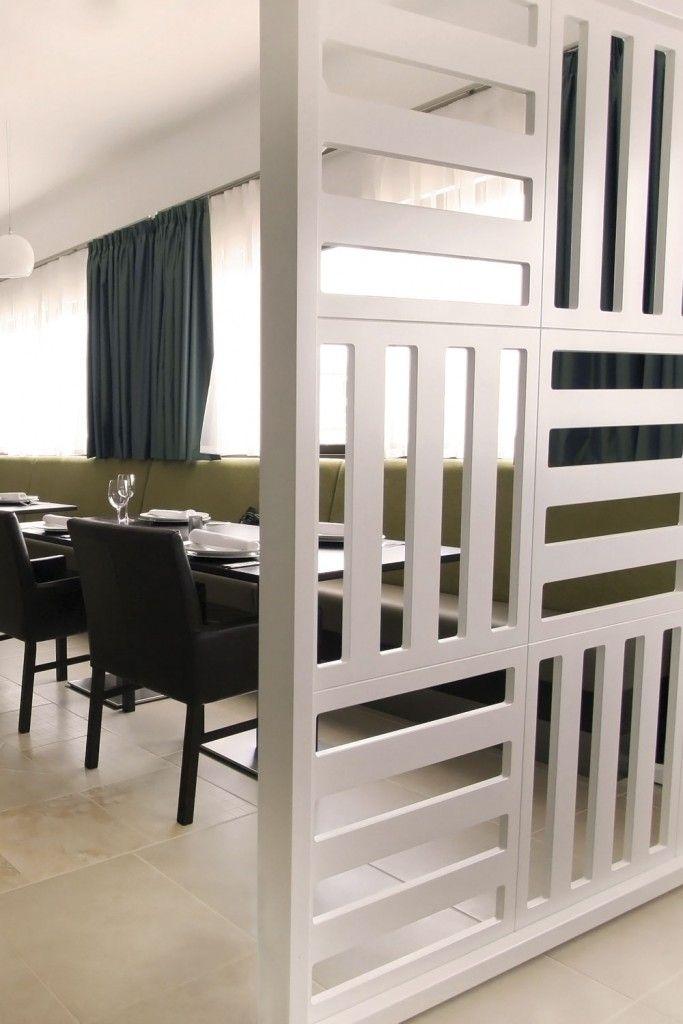 Bespoke Room Divider White Wood 03 In 2019 Living