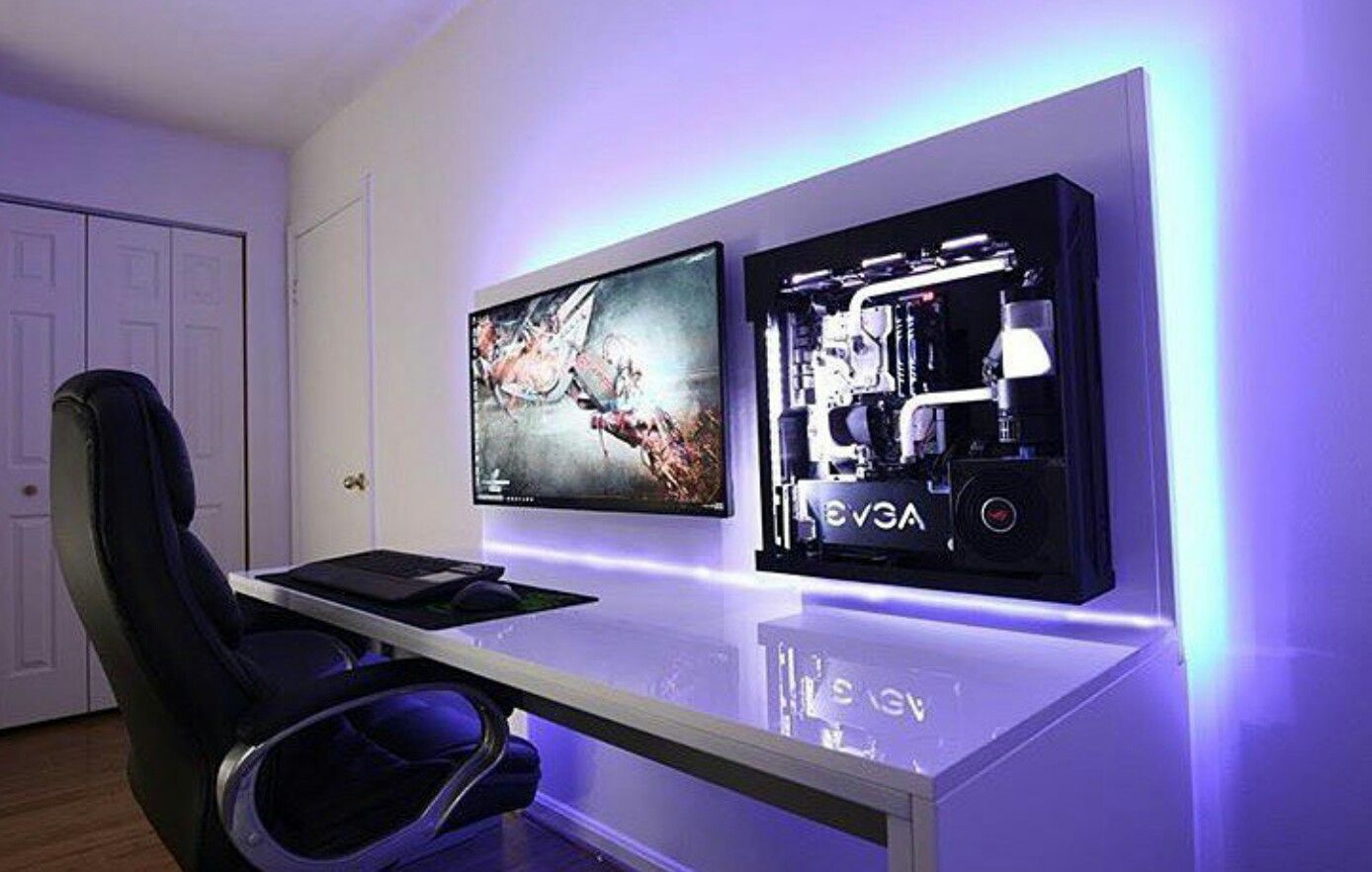 Pin By Ludwig Jimenez On Home Office Pinterest Gaming