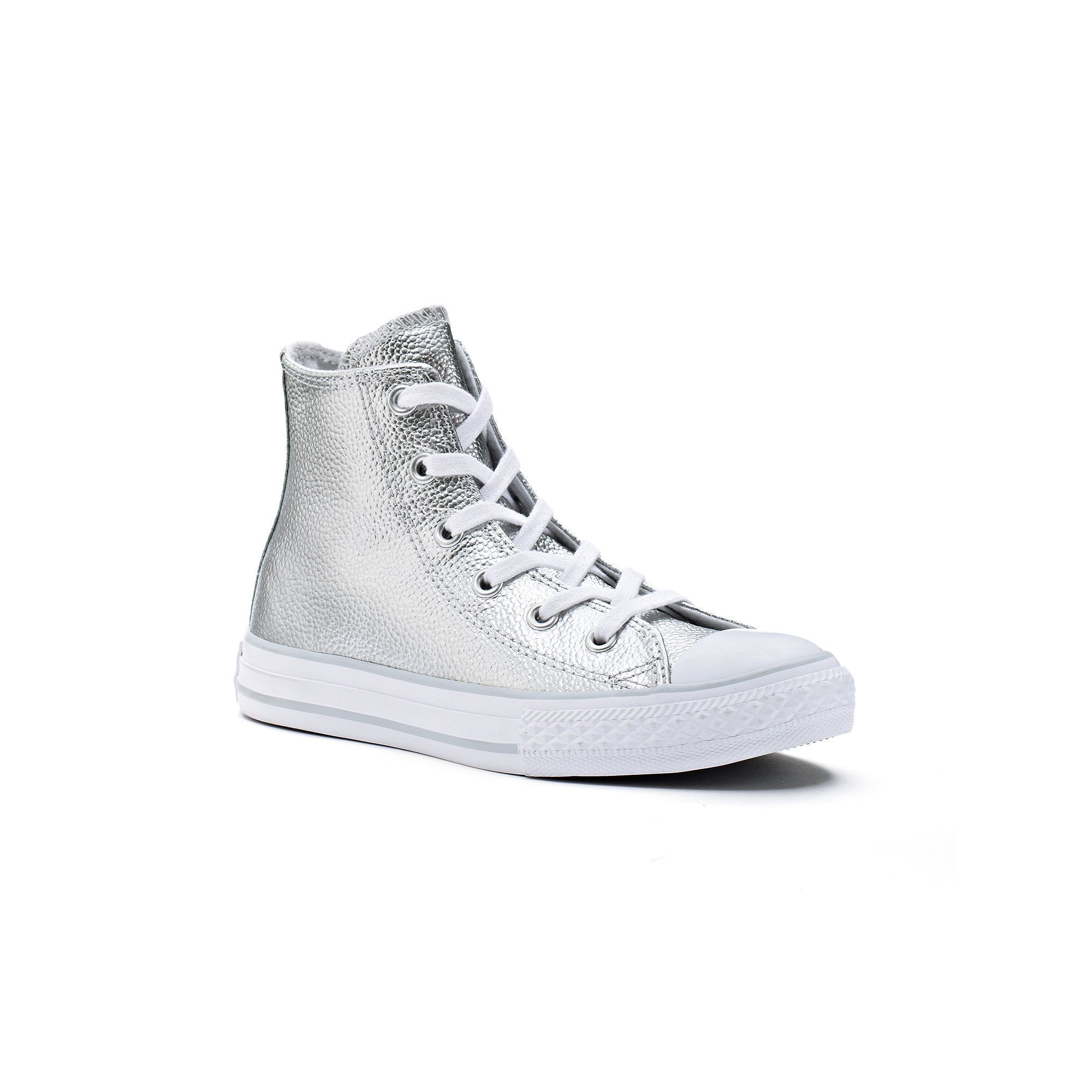 649a7340c7b2 Kid s Converse Chuck Taylor All Star Stingray Leather High-Top Sneakers