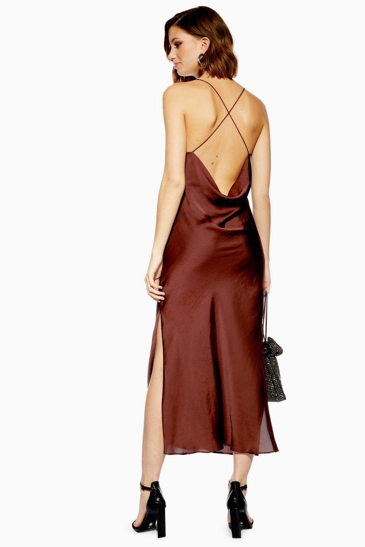 0a2a4f8c1c3 Plain Satin Slip Dress in 2019 | Dresses | Dresses, Satin slip, Satin
