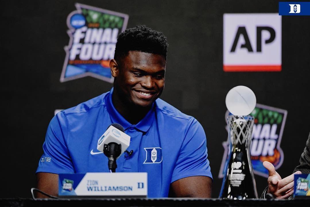 ปักพินในบอร์ด Duke Basketball - Zion Williamson