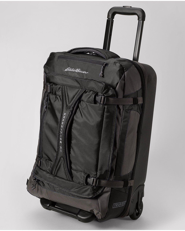 Travex Expedition Drop Bottom Rolling Duffel Medium Duffel Bags Leather Briefcase Men