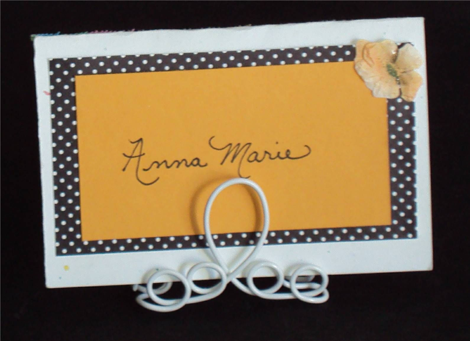 Instructions For Making Wire Card Holders Wedding Pinterest