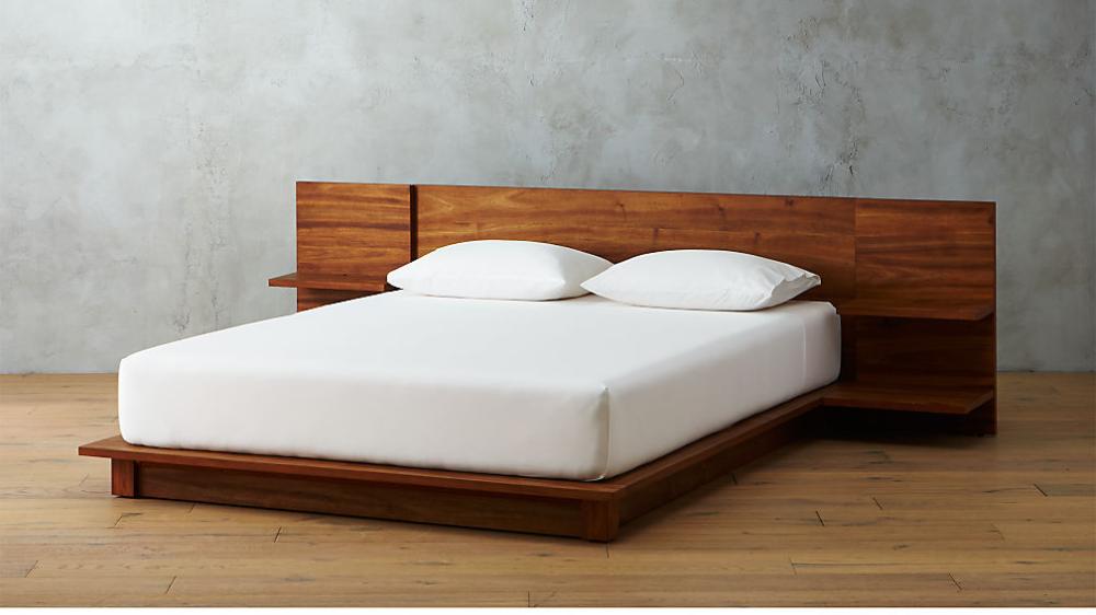 Andes Acacia California King Bed Reviews Cb2 California King Bedding King Beds Bed Furniture California king bed frame and mattress