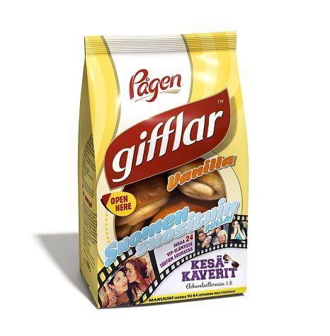 Pågen - Pågen Gifflar Two in One  tää typpi rakastaa kanlipullia yli kaiken. ostaa niitä jopa viikkorahoillan. kuin myös pipareita,