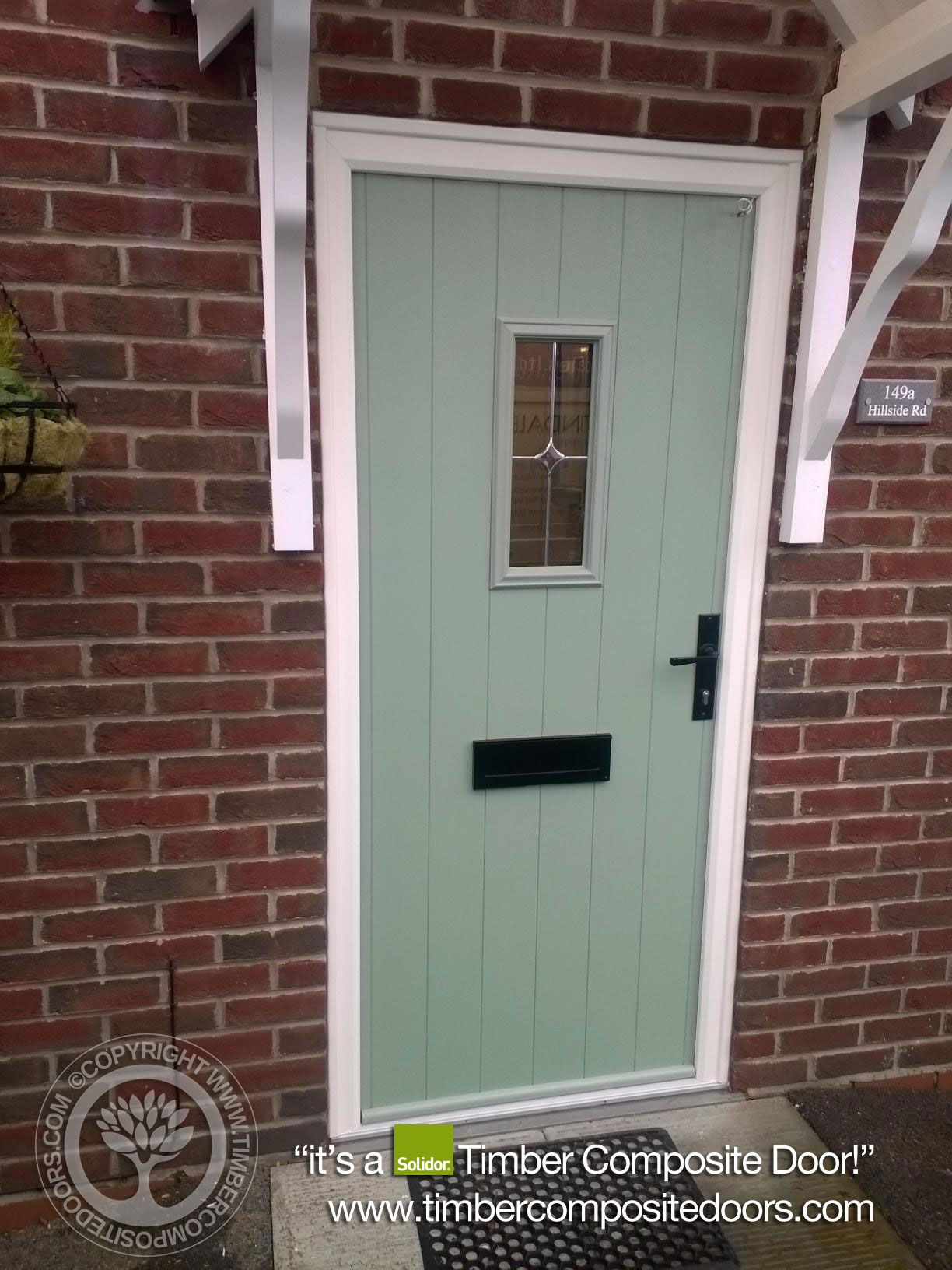 Chartwell Green Flint Solidor Timber Composite Door 2