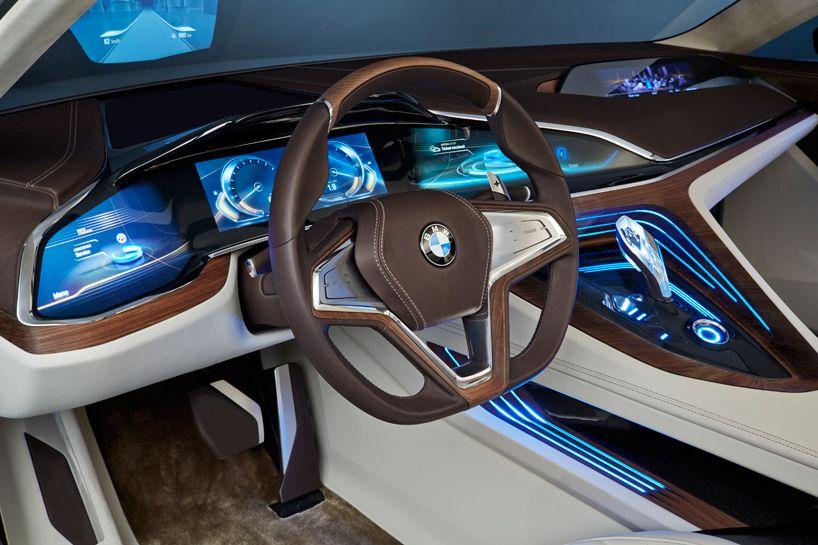 интерьер автомобиля будущего BMW