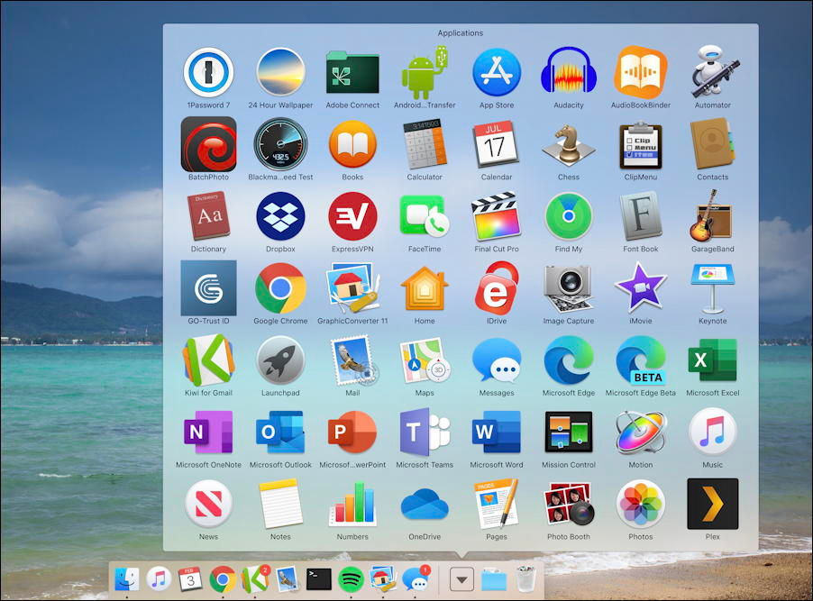 The Dock On Your Macos X System Can Show The Contents Of Folders Like Applications Useful Here S How To Customize It Fo In 2020 Downloads Folder Facetime Folder Icon