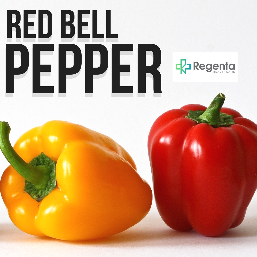 Bell peppers in any variety are packed with Vitamin C