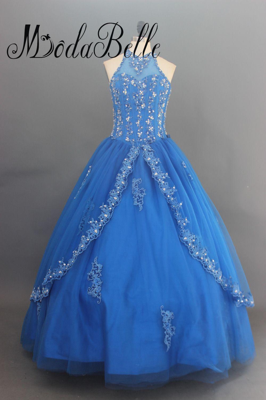 Click to buy ucuc modabelle royal blue quinceanera dresses vestido de