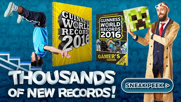 The Guinness World Records official site with ultimate record-breaking facts & achievements. Do you want to set a world record? Are you Officially Amazing?