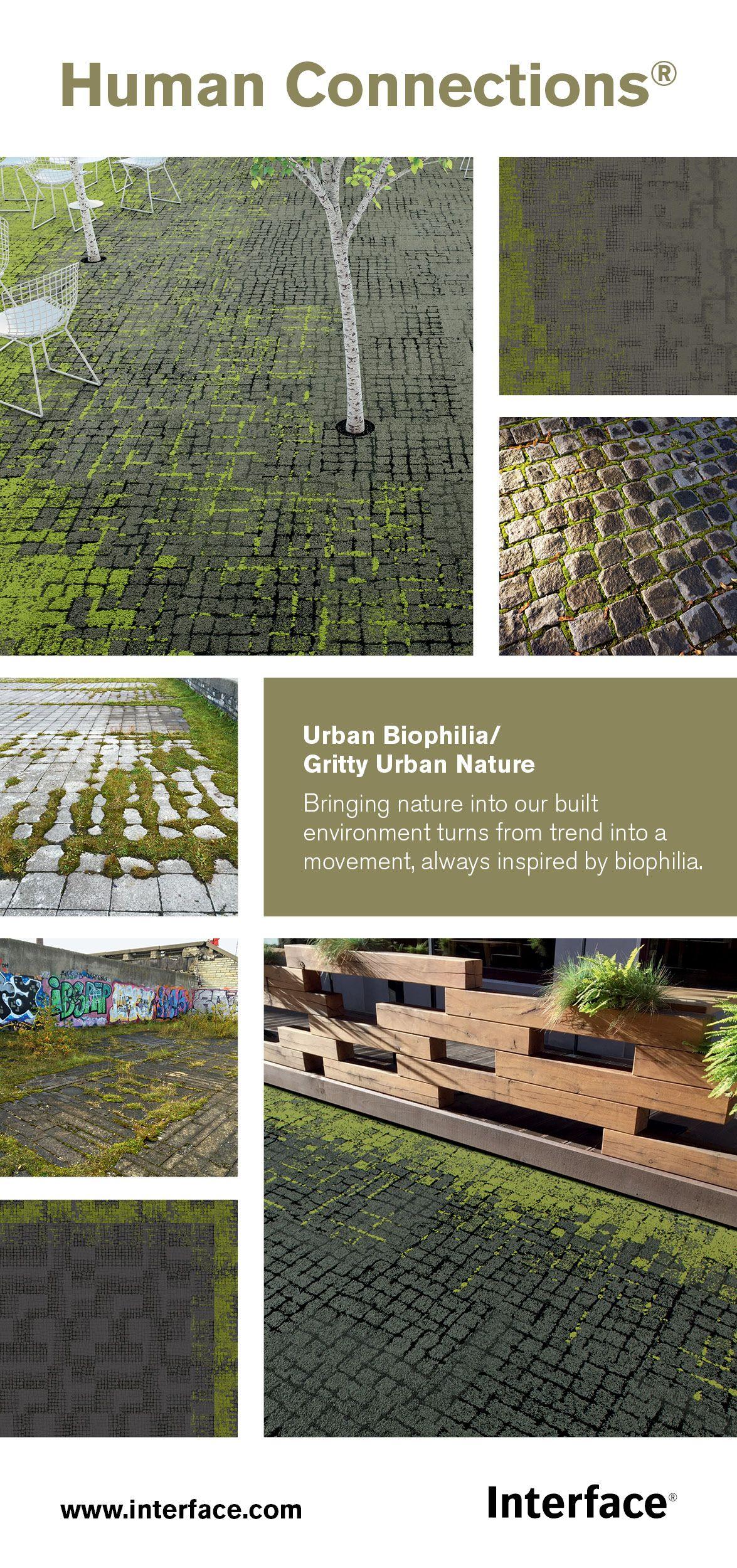 Human Connections Urban Biophilia Urban Landscape Design Human