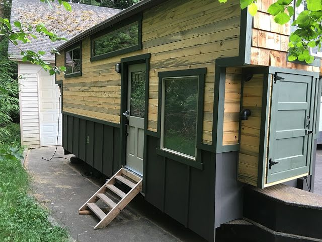 A custom tiny house available for sale in vancouver wa for Custom homes vancouver wa